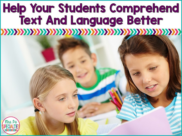 Students with language based disabilities, such as autism, frequently have trouble demonstrating comprehension of  text and language. Here are some strategies for teaching students to comprehend what they've read and heard.