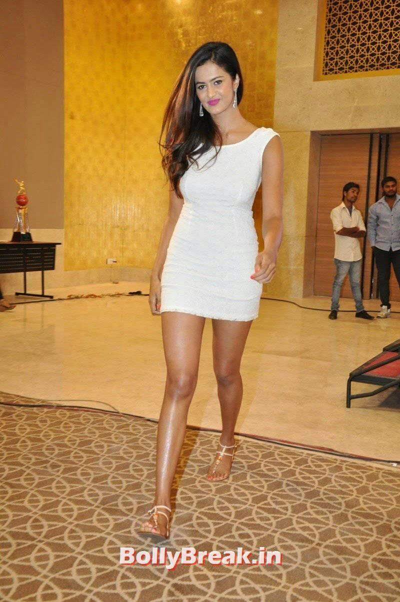 Actress Shubra Aiyappa Latest Stills, Shubra Aiyappa hot Figure Hd Pics in White Dress