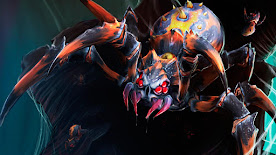 Broodmother DOTA 2 Wallpaper, Fondo, Loading Screen