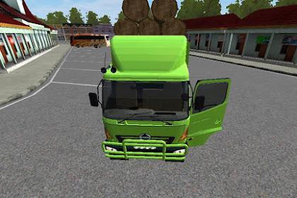 Mod Bussid Truck Hino Kayu