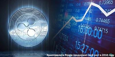 Криптовалюта Ripple продолжит свой рост в 2018 году