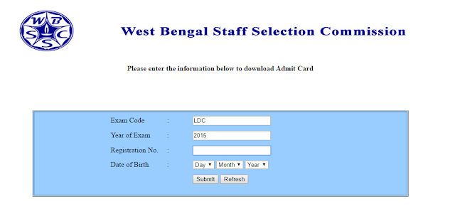 WBSSC+Admit+Card+LDA+15+16