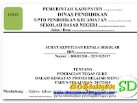 Download Contoh SKBM Tahun Pelajaran 2017/2018 Format Word