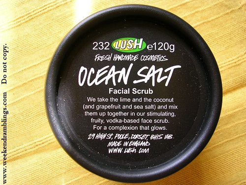 Lush Ocean Salt Face and Body Scrub Review