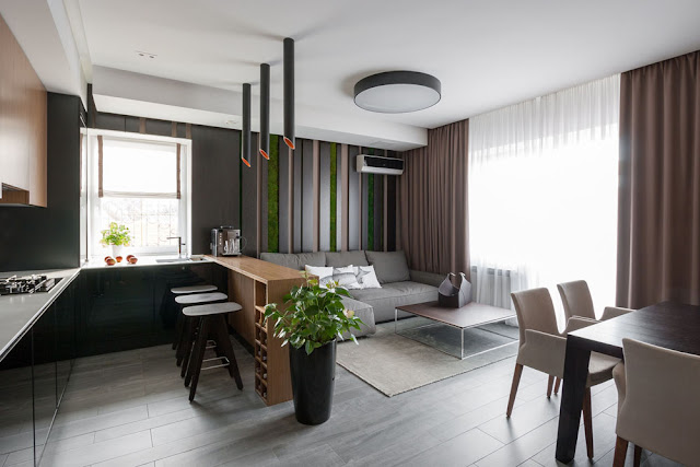 Thiết kế Phòng khách Iris Garden