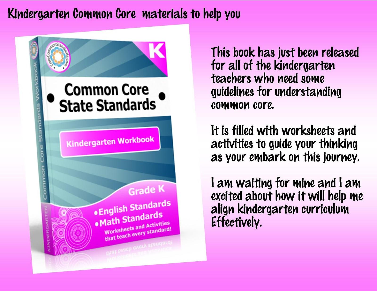 Kindergarten Crayons Kindergarten Common Core A Great