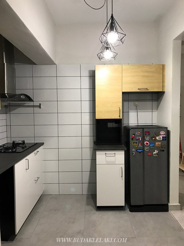 panduan pengalaman ubah suai dapur ikea metod sebelum selepas budak lelaki sebelah pintu. Black Bedroom Furniture Sets. Home Design Ideas
