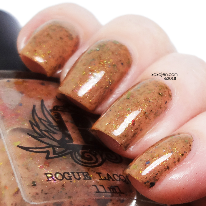 xoxoJen's swatch of Rogue Lacquer Red Rock
