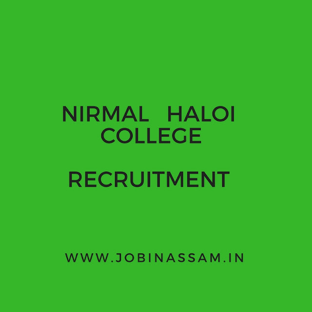 NH College, Barpeta Recruitment 2017