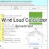 Wind Load Calculator Excel Spreadsheet | Free Downlaod