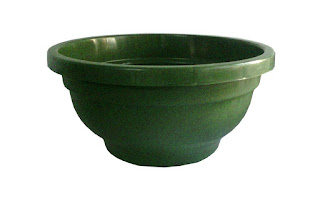 green bonsai pots