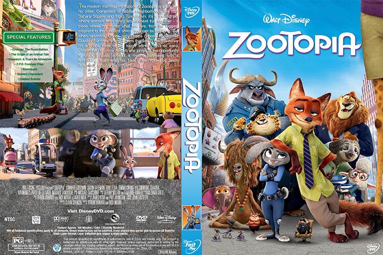 Zootopia (2016) 720p BrRip [Dual Audio] [Hindi 5.1+English]