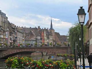 River Ill Grandelle Strasbourg France