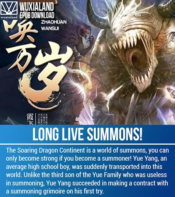 long live summons, lls, lls epub, long live summons epub, long live summons novel