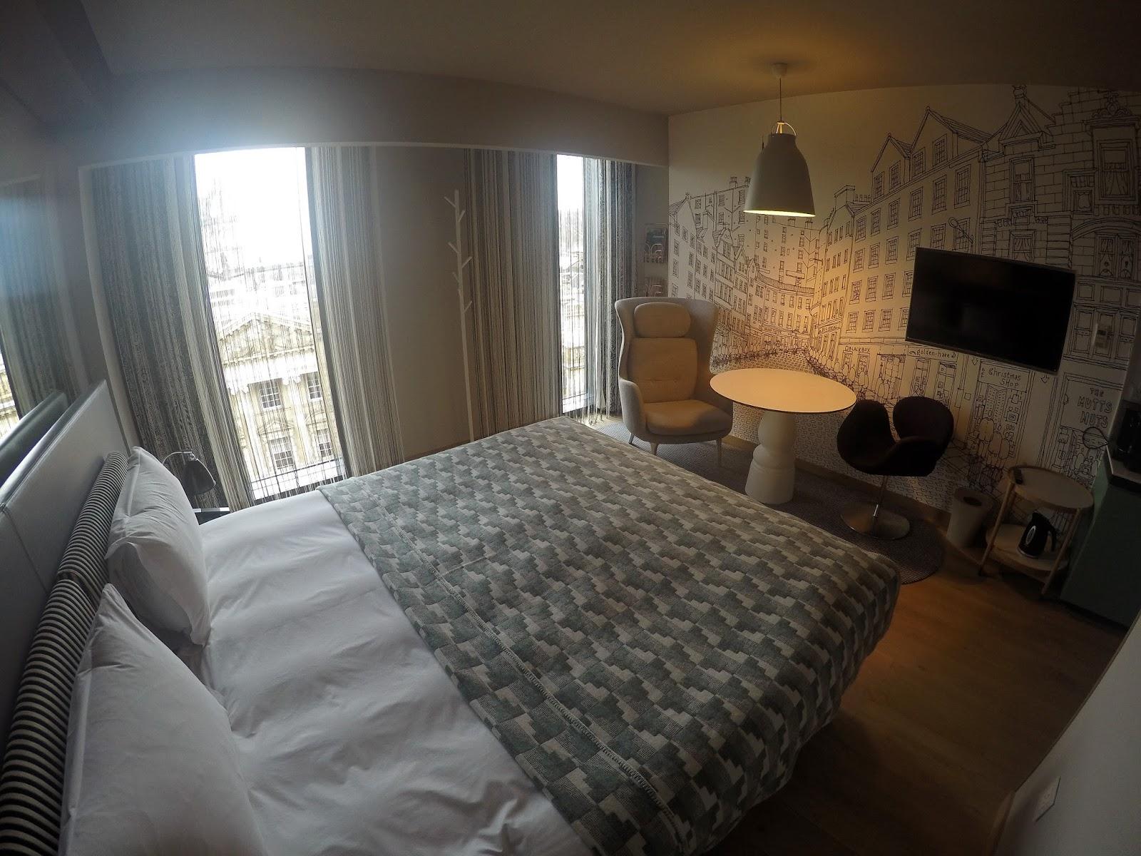A Stylish Stay at Edinburgh's G&V Royal Mile Hotel