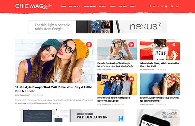 chicmag-blogger-magazin-teması