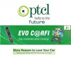 PTCL EVO Carfi a Connected Cars Product