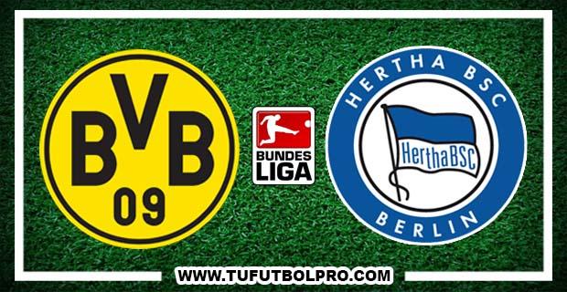Ver Borussia Dortmund vs Hertha Berlin EN VIVO Gratis Por Internet Hoy 14 de Octubre 2016