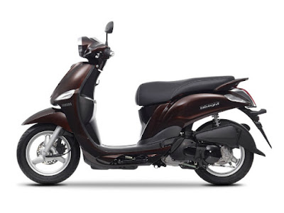 Yamaha D'elight Scooter side image