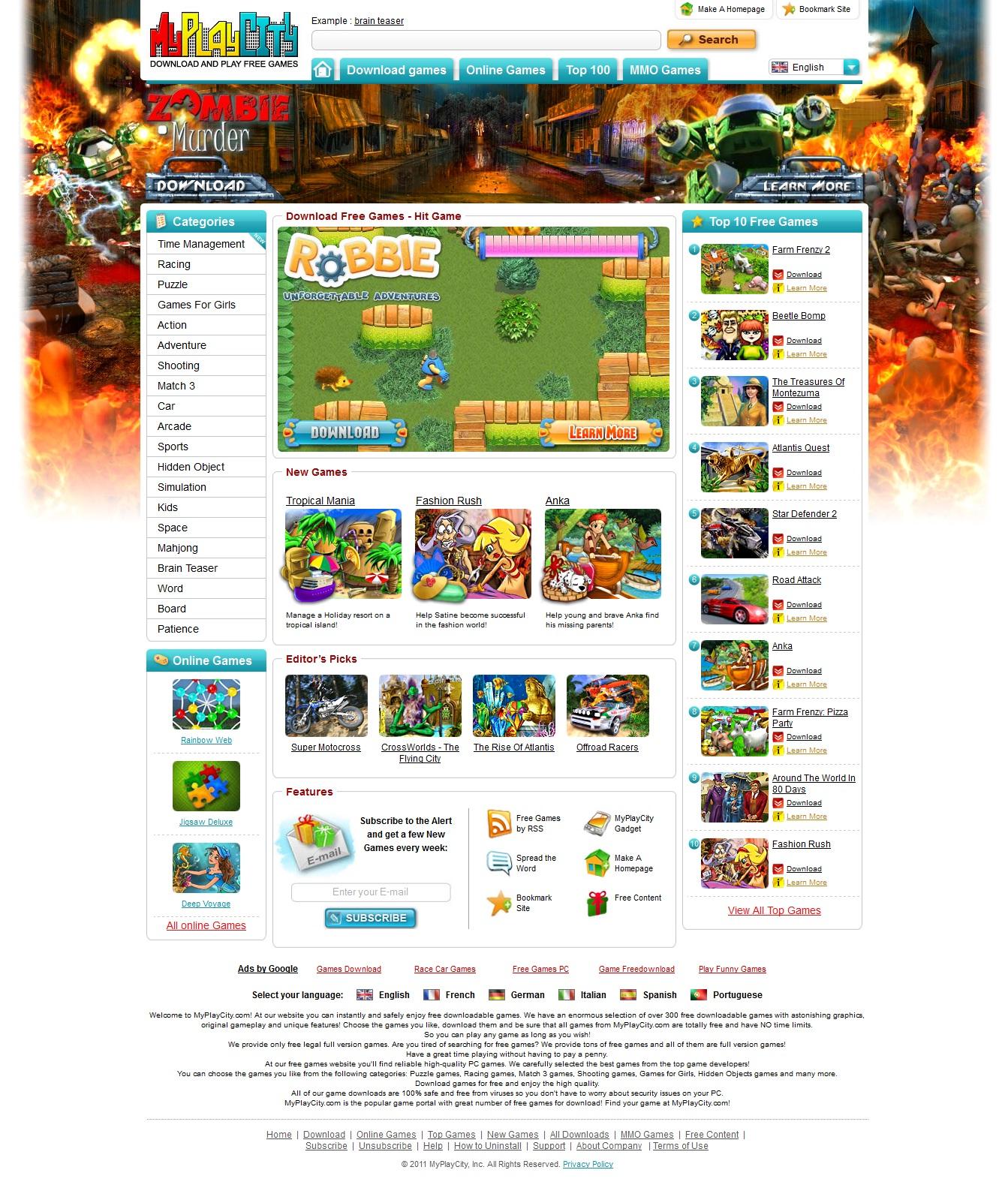 Flash Games Free Download