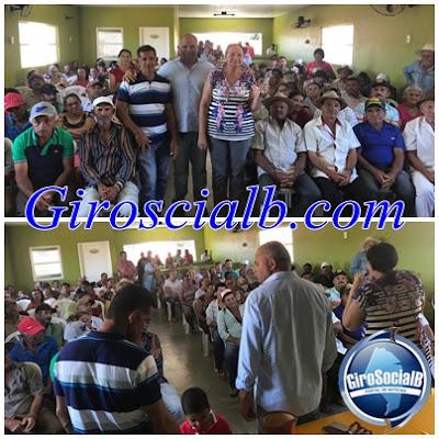 Ex prefeito de Tupanatinga  se reuniu com centenas de trabalhadores rurais em Itaíba.