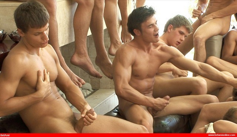 Guys masterbating together blog