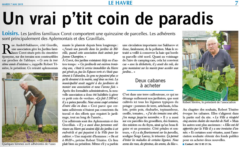Havre Aplemont Photo Visite Aux Jardins Familiaux