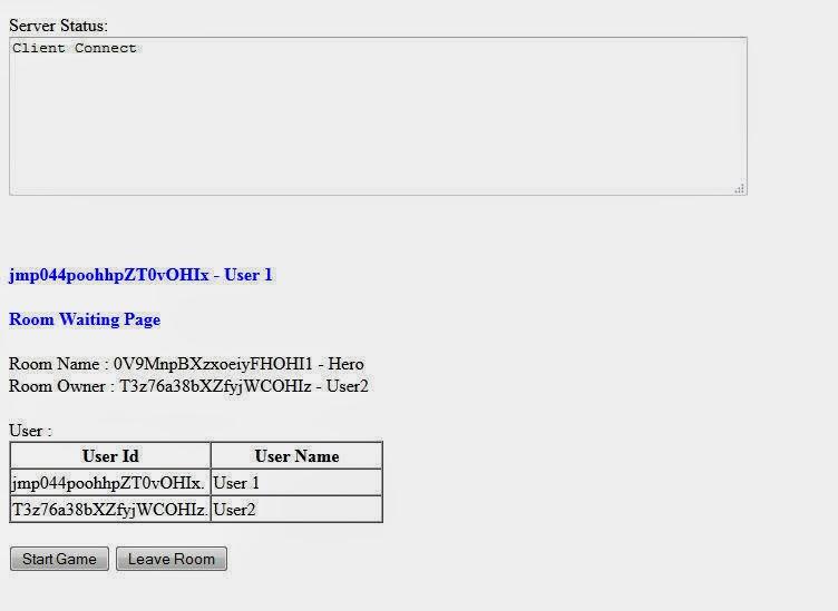 HTML5: HTML5 : node js and WebSocket - Practical 1 Room Manage