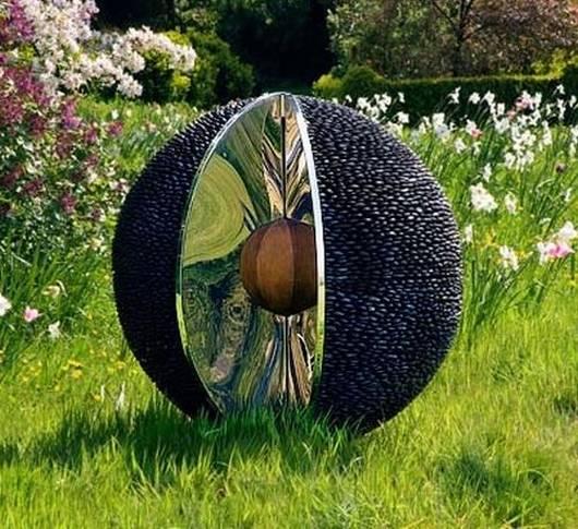 Garden Art Sculpture: Fresh Decor: Beautiful Garden Sculpture Ideas
