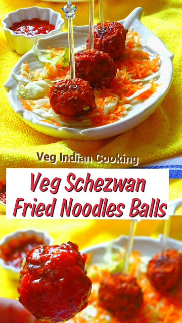 how to cook schezwan noodles