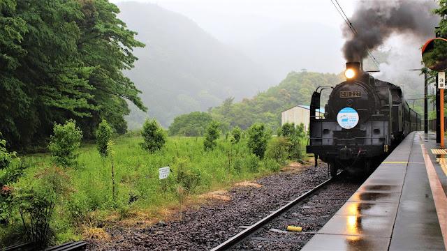 Train vapeur - Oigawa railway