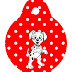 101 Dalmatians in Red and Black: Free Party Printables.