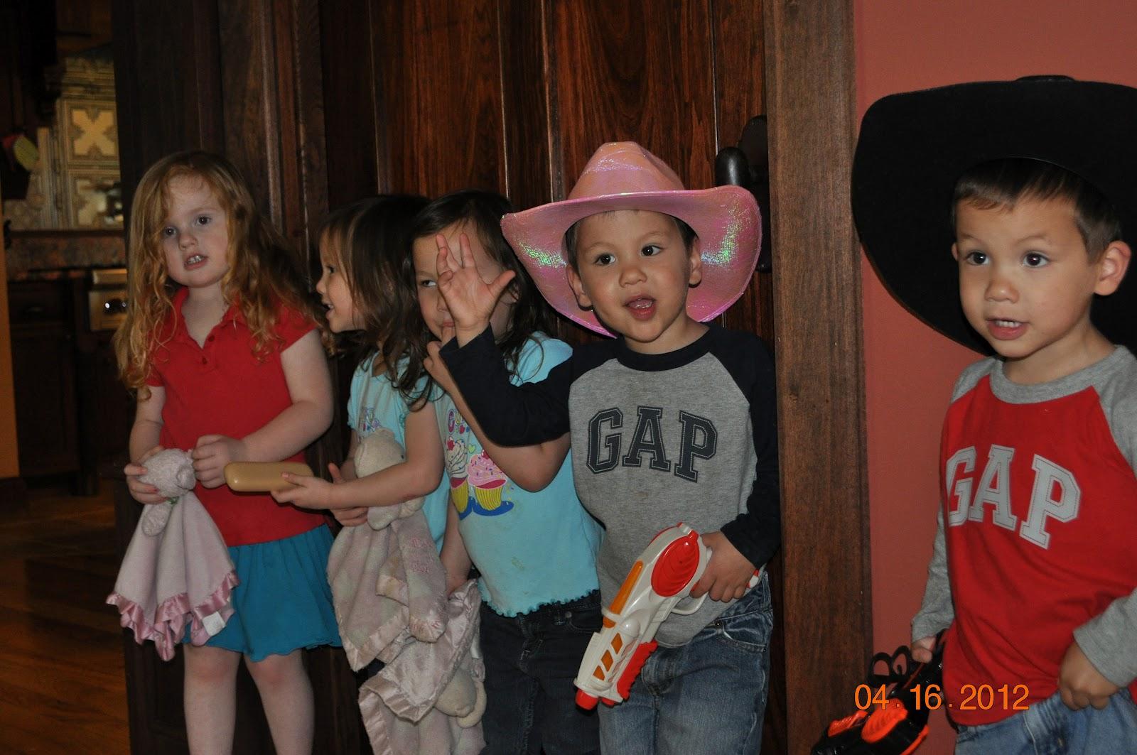 Cowboy hats, Mr Potato Head glasses & lost retainer | The