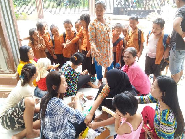 Desa Tanjung Alai Sediakan Posko Berobat Gratis