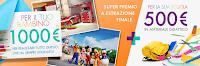Logo Kiabi colora la scuola: vinci kit e super premio finale