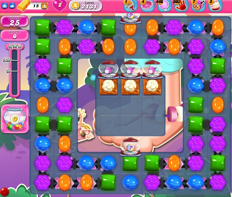 Candy Crush Saga level 2131