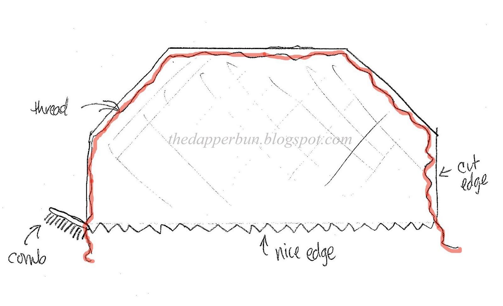 The Dapper Bun Diy Style How To Make A Birdcage Veil