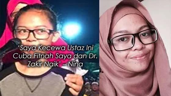 Ustaz Cuba Fitnah Dr. Zakir Naik dan Remaja yang Diislamkan Olehnya