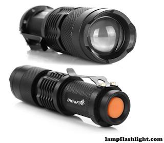 UltraFire 7w 300lm Mini Cree Led Flashlight