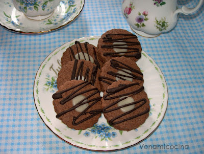 Galletas de Naranja y Chocolate