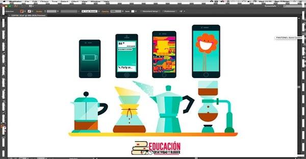 Como crear iconos profesionales en Adobe illustrator