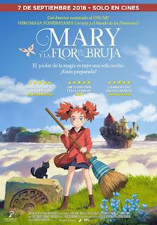 """Cine: Reseña de """"Mary y la flor de la Bruja"""" de Hiromasa Yonebayashi de Studio Ponoc - Selecta Visión"""