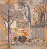 Corner of Paris by Pierre Bonnard - Landscape Paintings from Hermitage Museum