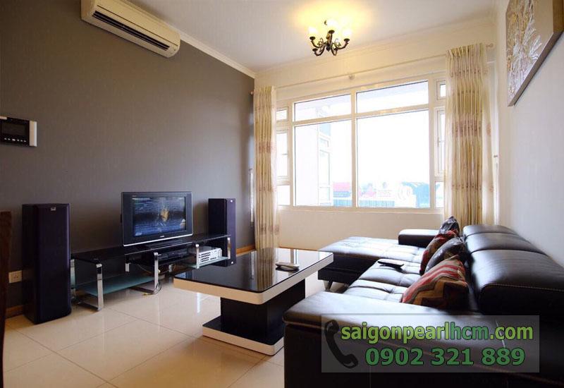 Cho thuê căn hộ Saigon Pearl 86m2 - phòng khách