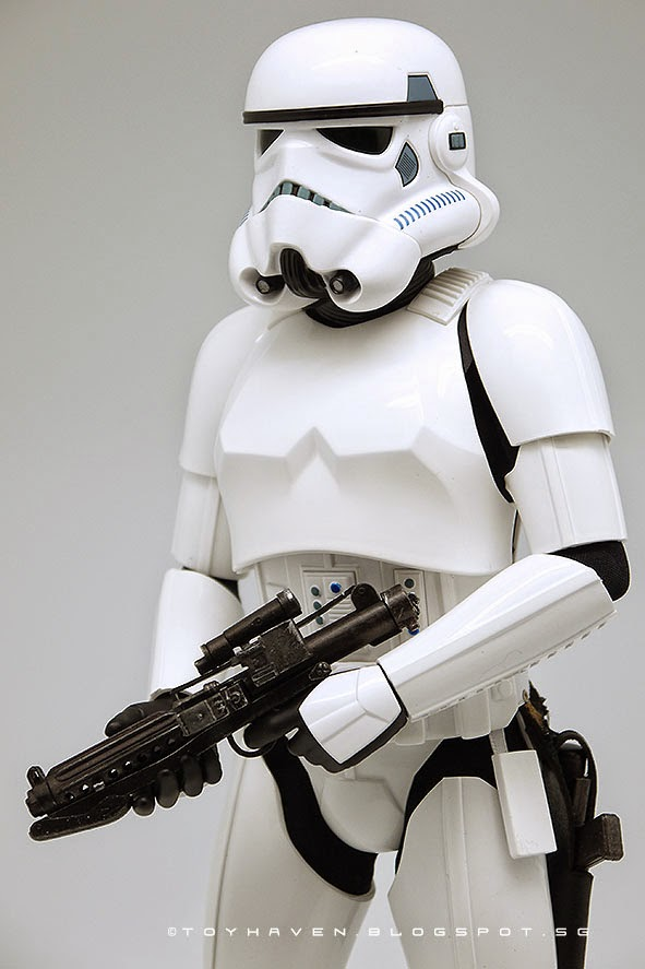 Toyhaven Hot Toys Mms267 Star Wars Episode Iv A New Hope 1 6 Stormtrooper 12 Inch Figure Review Ii