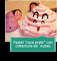 PASTEL CACA ARALE