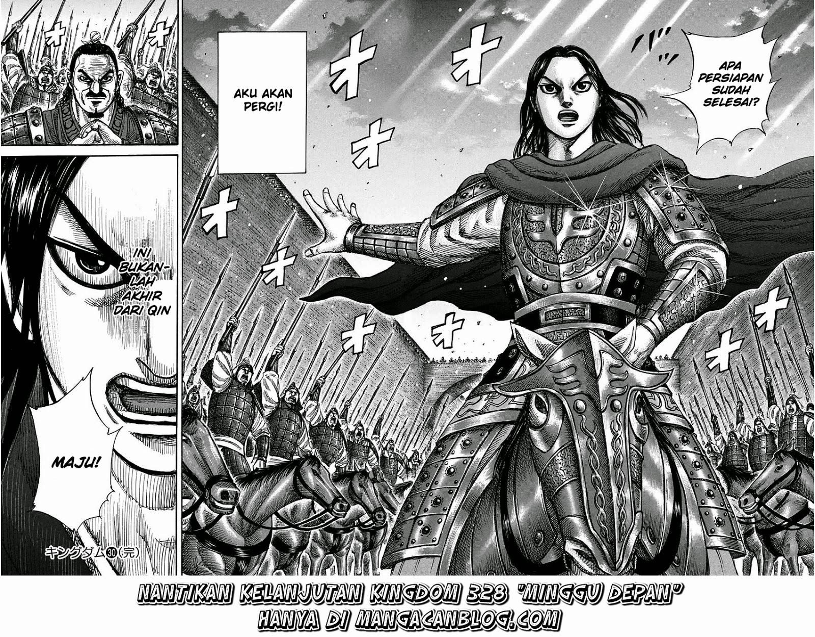Baca Komik Manga Kingdom Chapter 327 Komik Station