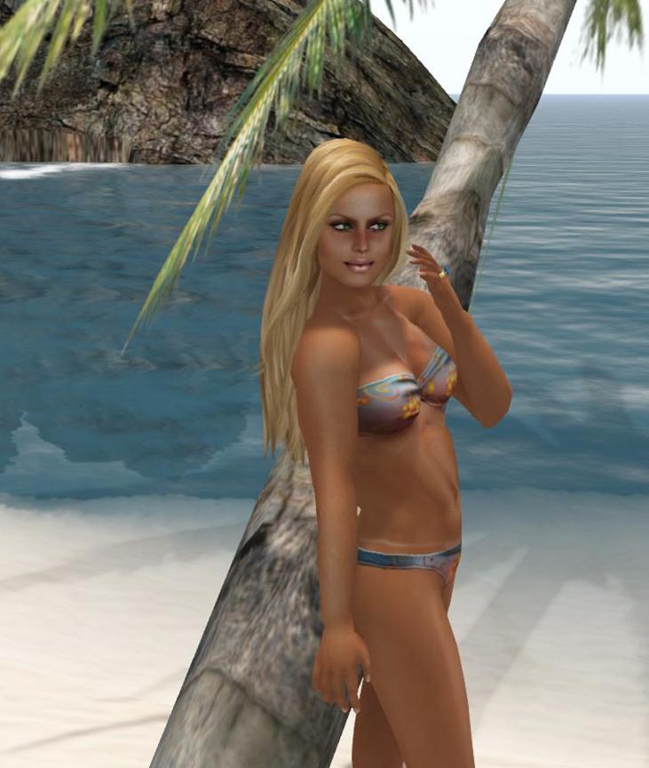 Leondra S Second Life Tan Lines