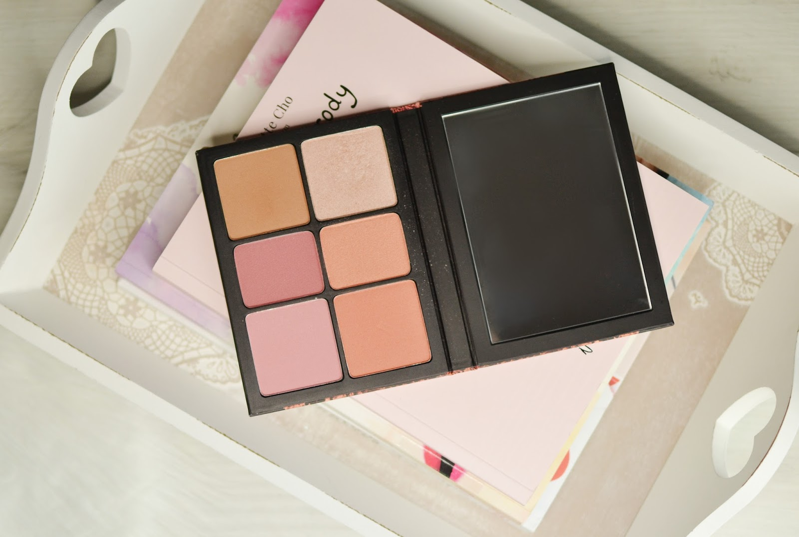 SMASHBOX PALETA RÓŻY CRUSH ON BLUSH