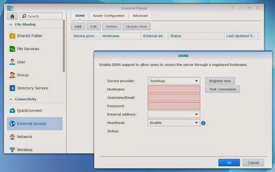 Envision  Code  Enjoy : Synology DSM5 0 remote access via DDNS